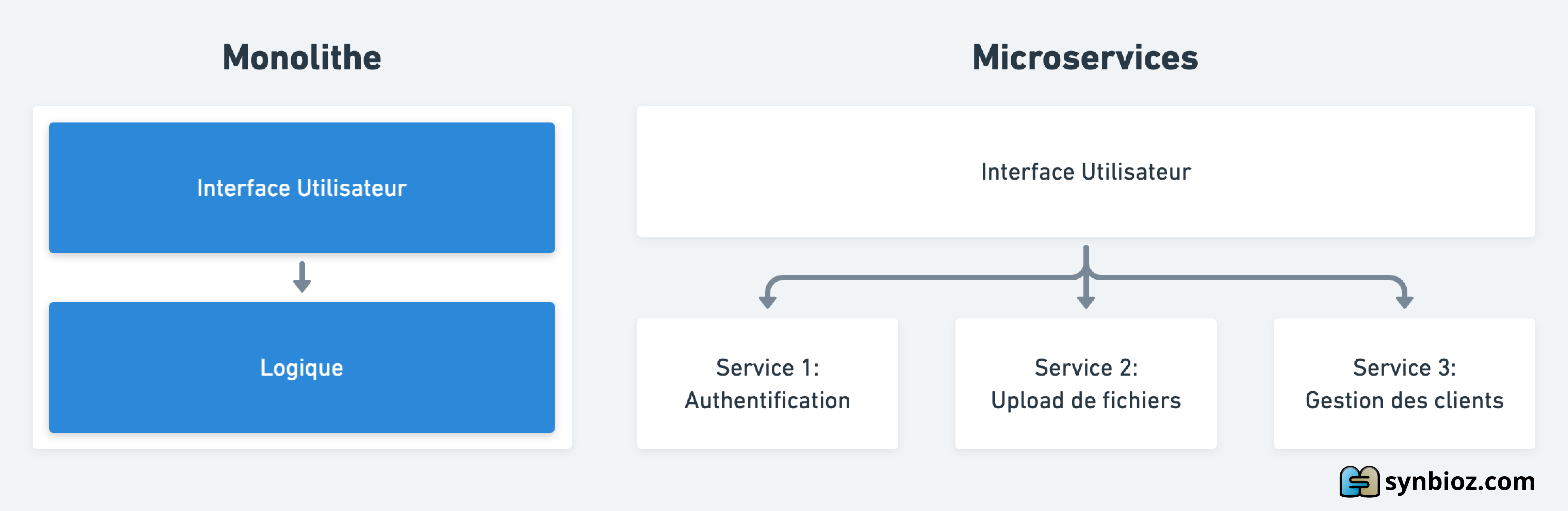 Monolithe versus Microservices